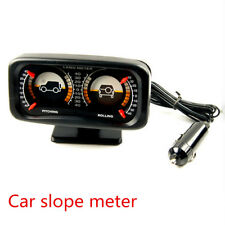 Car Slope Meter Rotary Balancer Instrument Backlight Tilt Indicator Inclinometer