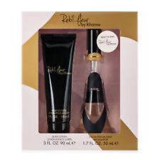 2pc Gift Set Rihanna Reb'l Fleur 1.7oz EDT Perfume Spray & Body Lotion NIB (045)