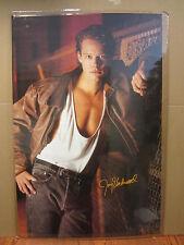 Vintage 1988 Jay Underwood poster hot guy   4295