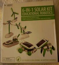 Vibe Essential 6-in-1 STEM Educational ROBOTICS Solar Kit