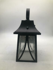 Cloudy Bay Outdoor Wall Lantern with Dusk to Dawn Photocell Sensor SET OF 2
