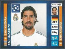 PANINI UEFA CHAMPIONS LEAGUE 2013-14- #095-REAL MADRID-SAMI KHEDIRA
