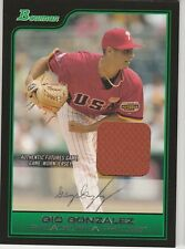GIO GONZALEZ Nationals 2006 Bowman Futures Game Jersey