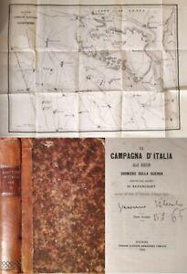 La campagna d'Italia dell'1859 - Risorgimento Napoleone Solferino Magenta Vol 2