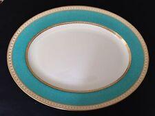 "Wedgwood Ulander Turquoise 15"" Platter Covered Vegetable W1503"