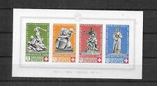 Schweiz 1940 Bundesfeier Block 5 sauber postfrisch
