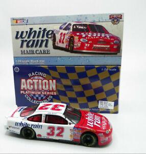 Action Dale Jarrett #32 White Rain 1998 Ford Taurus 1:24 1 of 6,000 FREE SHIP