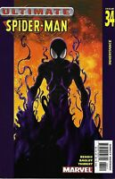 Ultimate Spider-Man Comic Issue 34 Modern Age First Print 2003 Bendis Bagley