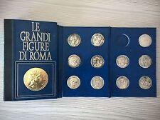 LIBRETTO RACCOGLITORE 17 MONETE LE GRANDI FIGURE DI ROMA - AMICI DELLA STORIA