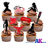 Be Naughty! Sexy Erotic Adult Party Pack - 36 Edible Stand-up Cup cake Toppers