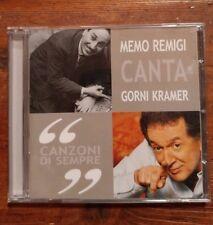 Memo Remigi Canta Gorni Kramer – Canzoni Di Sempre CD