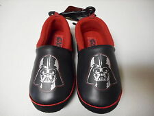 Boys Toddler Disney Darth Vader Star Wars Slippers House Shoes Small 5/6 NEW