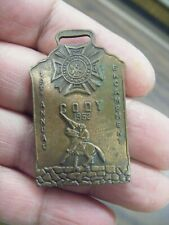 annual cody encampment watch fob 1952 veterans of foreign wars 19th