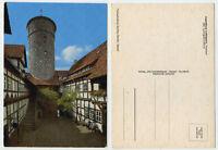 45261 - Jugendburg Ludwigstein - Innenhof - alte Ansichtskarte