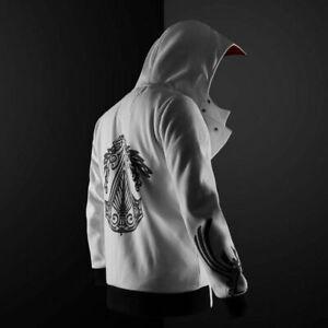 Assassins Creed Hoodies Unisex Zipper Jacket Street Fashion Sweatshirt New