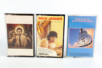 Pete Townshend, Jagger & Dire Straits: Classic Rock Cassette Tapes - Lot of 3