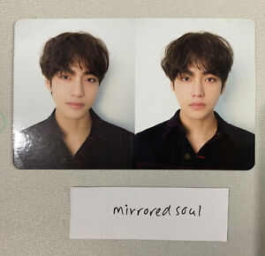 BTS Taehyung V Official Love Yourself Tear Version R Photo Card