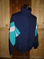vintage german 80`s Luppold Nylon Jacke sportjacke 80er Jahre oldschool Gr.54 L