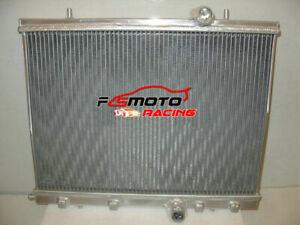 Radiador de aluminio para 1999-2008 Peugeot 206 GTI / RC 180 00 01 02