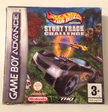 HOT WHEELS STUNT TRACK CHALLENGE Nintendo Gameboy Advance UK Version Game Boxed