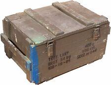 Boîte Munitions Lany Coffre de rangement militärkiste munitionsbox Boîte en bois