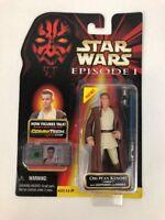 1999 Hasbro Star Wars: Episode 1 - Obi-Wan Kenobi Naboo Action Figure FSTSHP