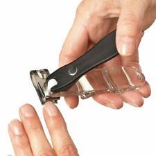 360 Degree Rotary Stainless Steel Sharp Blade Fingernail Clipper Magnifier
