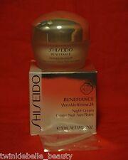 Shiseido BENEFIANCE Wrinkle Resist 24 Night Cream 50ml / 1.7 oz NEW