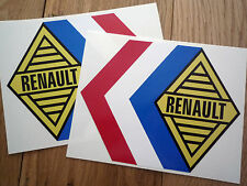 Renault Alpine Tricola 325mm Rally & Race Car pegatinas