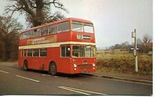 Thames Valley Bristol double deck bus No.510 Route 57 Bracknell 1970s postcard