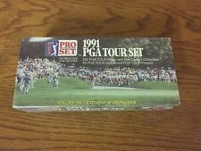 1991 Pro Set PGA Tour Complete 285 Card Set Sealed