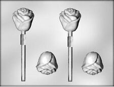 3D Rose Flower Chocolate Candy Mold from CK #13118