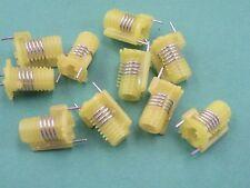 10 pcs toko S18 rf jaune bobines 4.5 tours 301NS0400 vis air (no) core EX16