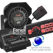 FENIEX TYPHOON FULL FUNCTION Siren with Triton SPEAKER Bundle 100W USA