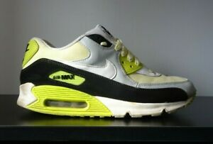 Mens Nike Air Max 90 Premium Yellow Trainers 2013 - UK 8.5
