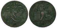5 centimes 1851  Léopold Premier Monogramme Lion Belgique TTB+ - Cuivre