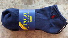 Polo Ralph Lauren Mens No Show 4 Pack Size 9-12