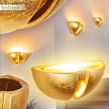 Aplique cerámica dorado salón pasillo entrada comedor dormitorio efecto arriba