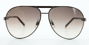 DSQUARED2 Sonnenbrille DQ 0024 48F 59-12 135 Gunmetal Leder Premium Pilot c2009