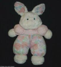 "18"" VINTAGE 1992 COMMONWEALTH PINK BABY BUNNY RABBIT STUFFED ANIMAL PLUSH TOY"