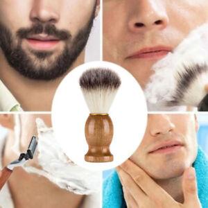 Black Badger Hair Shaving Brush Beard Cleaning Mustache Brushes Facial Beauty #