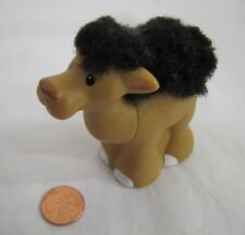 Fisher Price Little People Touch & Feel NATIVITY CAMEL FUZZY BACK Zoo Desert