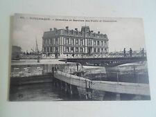 Vintage Postcard  DUNKIRK Dunkerque Direction Et Services Des Ponts Et Chaussees
