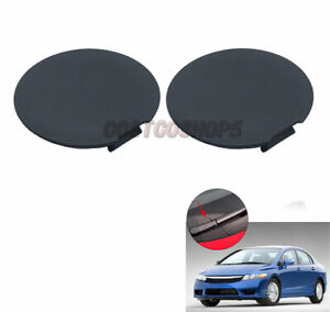 A Set Cowl Top Screw Cap Cover Left & Right For 06-11 Honda Civic MDX 01-06
