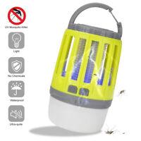 Ee _ USB Recargable Mosquito Asesino Bicho Insecto Repelente de Plagas LED Luz