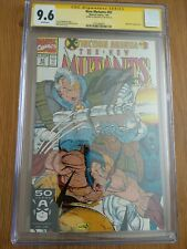 New Mutants 97 CGC 9.6 SS Signed Rob Liefeld