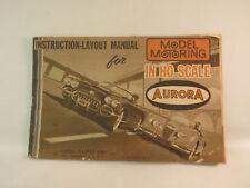 Aurora model motoring vibrator service manual