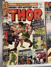 Journey Into Mystery King Size Annual THOR 1 (1965)  1st Hercules & JiM THOR 124