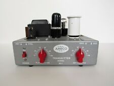 AMECO AC-1  transmitter  DIY (Do It Yourself )   REPLICA KIT 40m  RED KNOBS