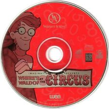 WHERE'S WALDO AT THE CIRCUS? by Warner Active PC Game CD-ROM